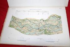 Der Rheinstrom und seine wichtigsten Nebenflüsse 22 Karten 1889 Rhein