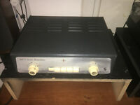 Vintage Acoustical Integrated Stereo Tube Amplifier PP EL95 Duch Bang & Olufsen