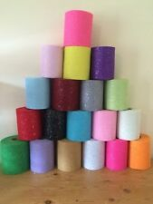 By the Metre Unbranded Tulle Craft Fabrics