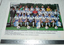CLIPPING POSTER FOOTBALL 1988-1989 US DUNKERQUE LITTORAL