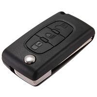 3 Tasti cover guscio chiave telecomando for citroen C2 C3 C4 C5 C6 xsara pi Q4W7