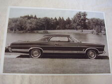 1967 FORD GALAXIE LTD 2DR HARDTOP   11 X 17  PHOTO  PICTURE