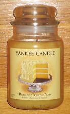 Yankee Candle - BANANA CREAM CAKE - 22 oz - Eat Deserts First Collection!!