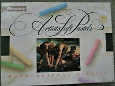 Rowney Professional Quality artists soft pastels box of 36
