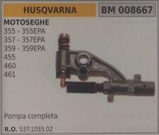 537105502 KIT BOMBA DE ACEITE PIEZAS REPUESTO MOTOSIERRA HUSQVARNA 455 460 461