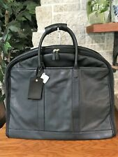RARE NWT COACH LEATHER FOLD OVER SUITER BAG TRAVEL GARMENT LUGGAGE 0589 SUITCASE