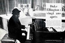 Article papier 4 pages DUKE ELLINGTON 1958 JDF 208 P1049009