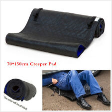 Black Automotive Creeper Rolling Pad For Working On The Ground Repair Tool