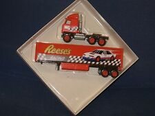 WINROSS 1/64  REESES RACING TEAM TRACTOR AND TRAILER *