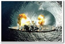 USS Iowa Battleship - NEW Navy Battle Military POSTER
