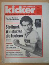 KICKER 5 -11.1. 1979 * Hansi Müller Peter Schwarz Dieter Hoeneß Gyula Lorant