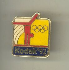 1992 BARCELONA SUMMER OLYMPICS Lapel Pin GYMNASTICS Spain KODAK USA Olympic
