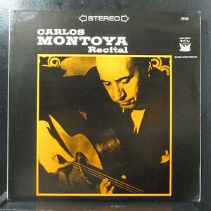 Carlos Montoya - Guitar Recital LP Mint- Period Records PRST-2928 USA