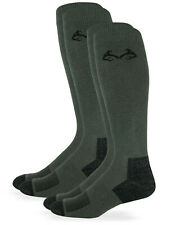 Realtree Mens Insect Shield Over the Calf Boot Socks 2 Pair Pack