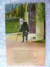 Postcard- The Volunteer Organist (4) Banforth