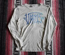 VANS YOUTH LONG SLEEVE GRAPHIC THERMAL HENLEY STYLE SHIRT SIZE L