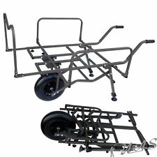 DELTA FISHING TROLLEY BIG WHEEL XXL CARP BARROW SCHNELLKLAPP ANGELKARRE KVA