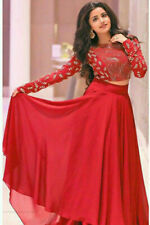 Indian Pakistani Designer Lehenga Choli Party Wedding Red Ghagra Blouse Lahenga