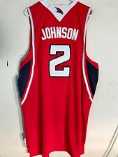 Adidas Swingman NBA Jersey ATLANTA Hawks Joe Johnson Red sz 2X