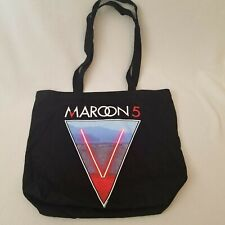 Maroon 5 Black V Tote Bag 2016 Tour Vip Merchandise