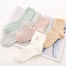 Comfort Candy 1Pair Color Warm Solid Female Sock For Socks Women Cotton Cute