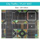 Children Play Mat Simulation Car Traffic Parking Map Puzzle Pad For Children Kid