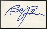 RITA RUDNER SIGNED 3X5 INDEX CARD STAND UP COMEDIAN COMEDY BORN TO BE MILD