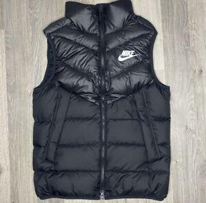 Nike Down-Fill Windrunner Gilet Body Warmer Black- Small (S)- Brand New