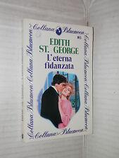 L ETERNA FIDANZATA Edith St George Curcio 1983 Bluemoon 103 romanzo libro di