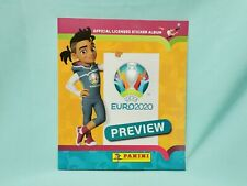 Panini Euro EM 2020 Preview Sticker Sammelalbum Album Leeralbum Int. Edition