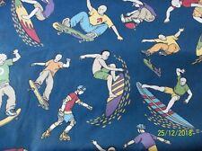 New listing Bloomcraft fabric/Blue cotton fabric/Surf fabric/Extreme sports cotton fabric