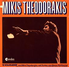 LP MIKIS THEODORAKIS 12 VOLKSLIEDER