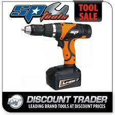 """SP Tools 18V Lithium-Ion 1/2"""" 2 Speed Cordless Drill/Driver Kit - SP81233"""