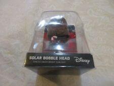Disney Star Wars Chewbacca Wookie Christmas Holiday Solar Bobble Head Ruz Xmas