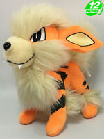 "12"" Wow Pokemon Arcanine Windie Plush Anime Stuffed Doll Toy Game PNPL8294"