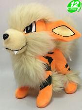 "12"" Wow Pokemon Arcanine Windie Plush Anime Stuffed Doll Toy Game PNPL8294"