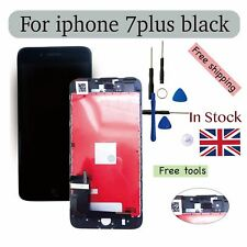 For iPhone 7- plus Replacement LCD lens Screen - black (High Quality)