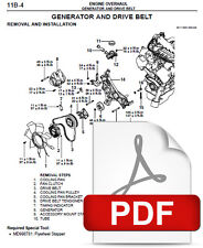 automotive pdf manual ebay stores rh ebay com 2001 Montero Sport Diagram Ground Wires 2000 Mitsubishi Montero Transmission Line