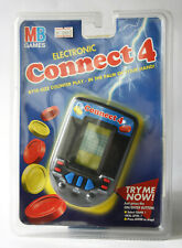 VINTAGE 1996 ELECTRONIC CONNECT 4 LCD HANDHELD GAME MB NEW SEALED !