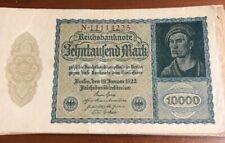 1922 Germany Reichsbanknote 10000 Mark