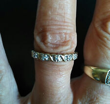 BAGUE OR 14 K et DIAMANTS
