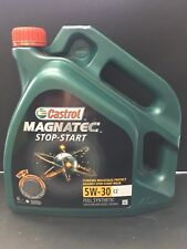 Castrol Magnatec 5W-30 C2 Fully Synthetic Engine Oil 5W30 4L NEW STOP-START