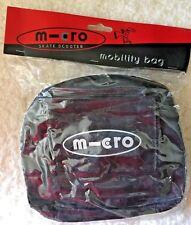 Mobility Bag - Micro - Skate Bag -Scooter Bag - Made to fit on handle Bars -