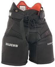"New Vaughn 7190 Goal Pant Jr ice hockey goalie pants black size 28"" junior large"