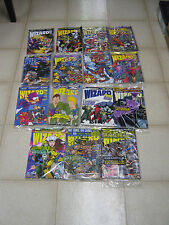 Wizard magazine comic lot (16), 20-28, 30, 31, 33-35, 37, X-men, most sealed!