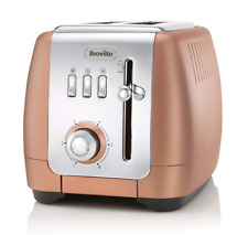 Breville VTT845 Strata Luminere 2 Slice Toaster Defrost Reheat Cancel Rose Gold
