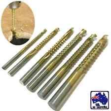 6pcs Woodworking Cutting Cutter Hole Slot Saw Holesaw HSS Ti Drill Bit TDRI31106