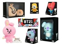 "Official BT21 BTS Line Boxed KPOP Merch Standing Plush 6-10"" Doll UK Seller"
