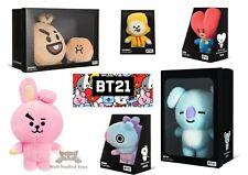 "Official BT21 BTS Line Boxed KPOP Merch Standing Plush 6-10"" Doll UK Seller"