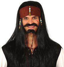 Pirate EYEPATCH ET BOUCLE D/'OREILLE Unisexe Adulte Smiffys Costume Robe Fantaisie Accessoire
